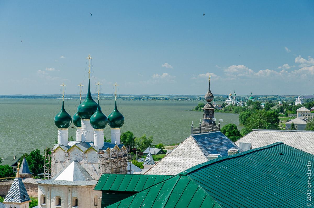 Ростов Великий. Вид с Водяной башни кремля