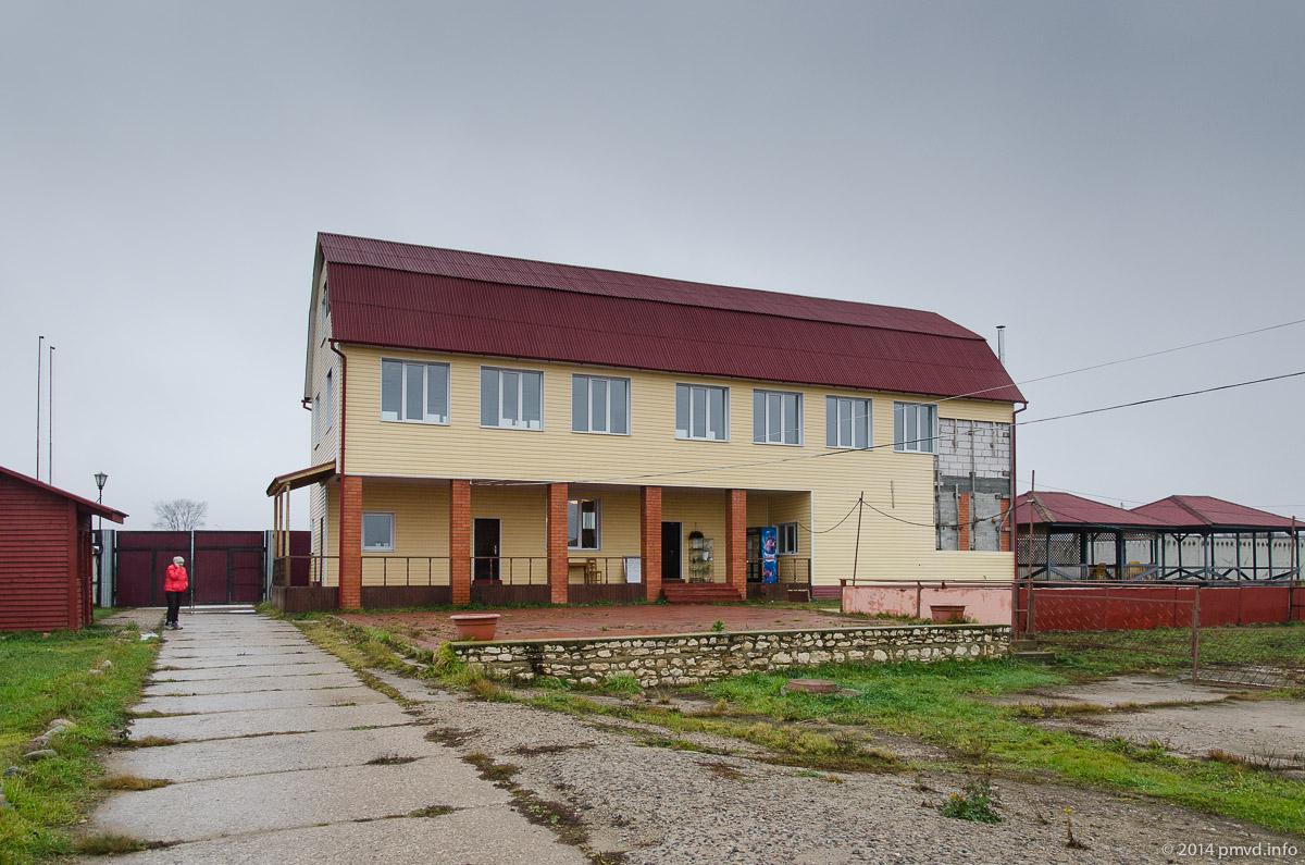 Русский страус. Здание администрации