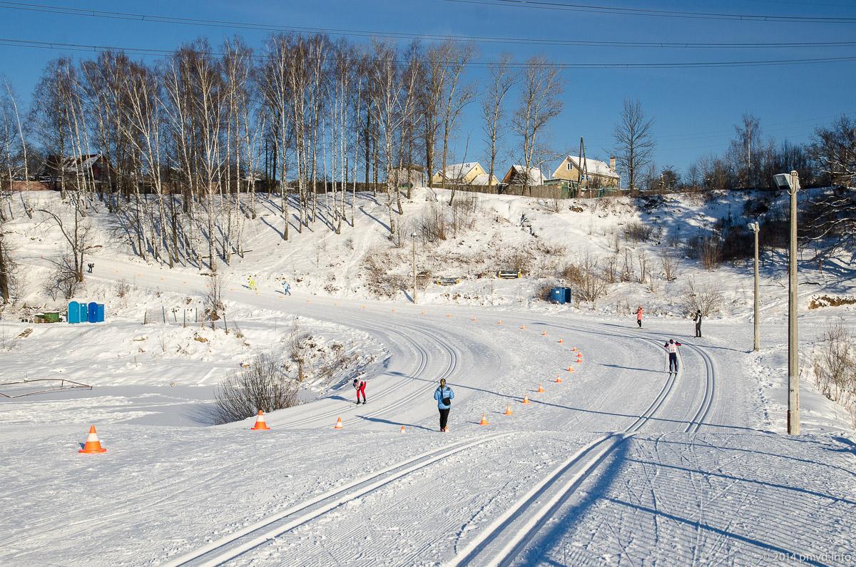 Красногорск. Лыжный стадион