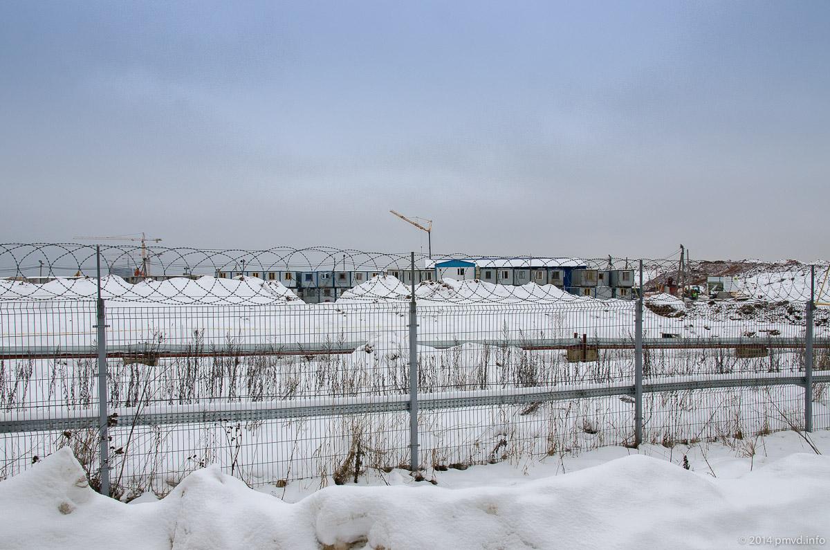 Инноцентр Сколково. Процесс строительства