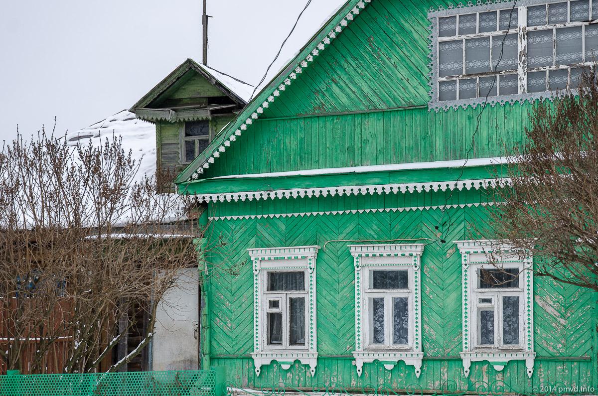 Дома в поселке Сколково