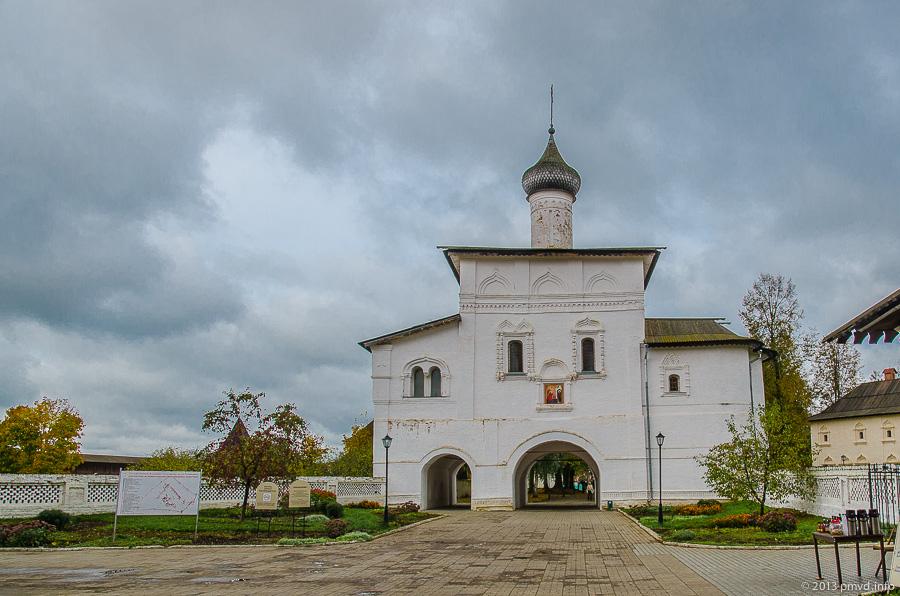 Суздаль. Благовещенская церковь.