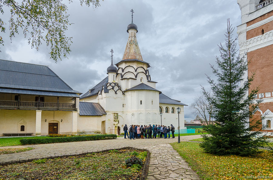 Суздаль. Спасо-Евфимиеский монастырь. Успенская трапезная церковь
