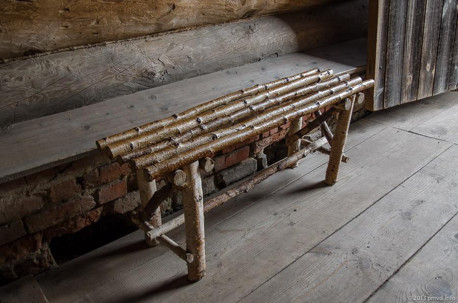 Суздаль. Музей деревянного зодчества. Крестьянский быт.