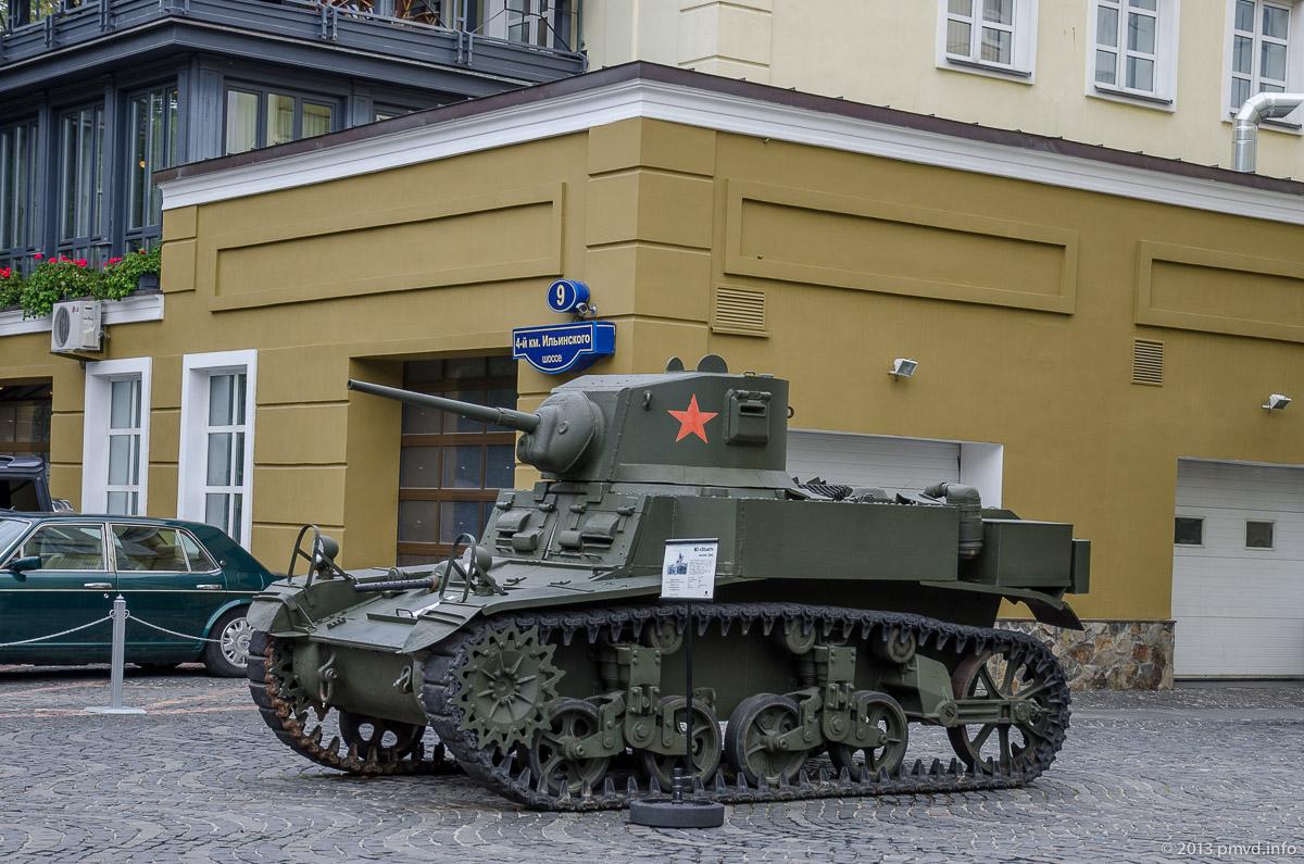 легкий танк M3 Stuart