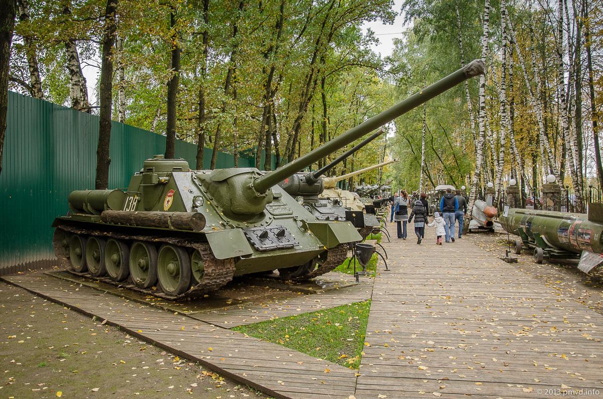Танки в Музее Техники Вадима Задорожного