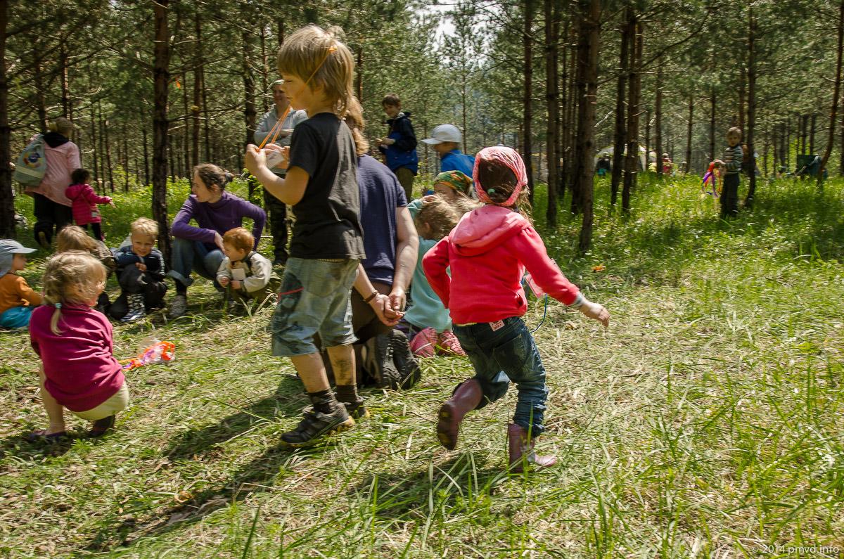 Слет Туристят - малышковые хороводы