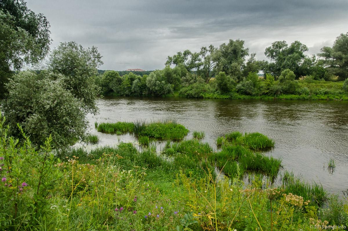 Москва река в Успенском.