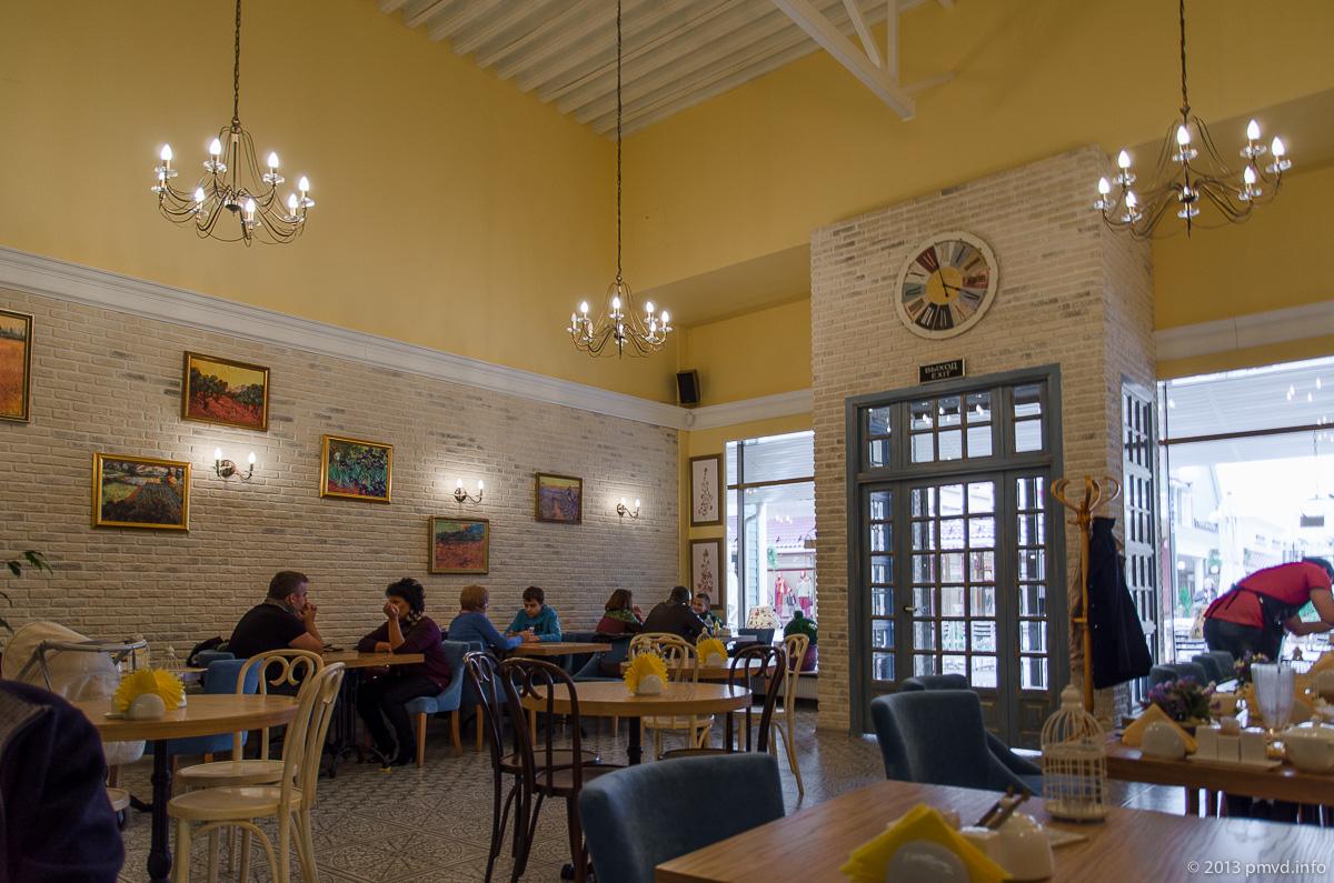 Vnukovo Outlet Village. Кафе GIUSTO