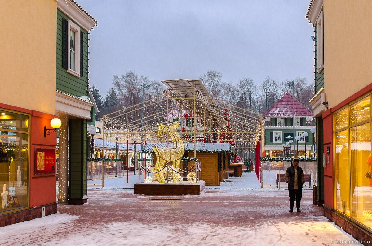 Vnukovo Outlet Village зимой