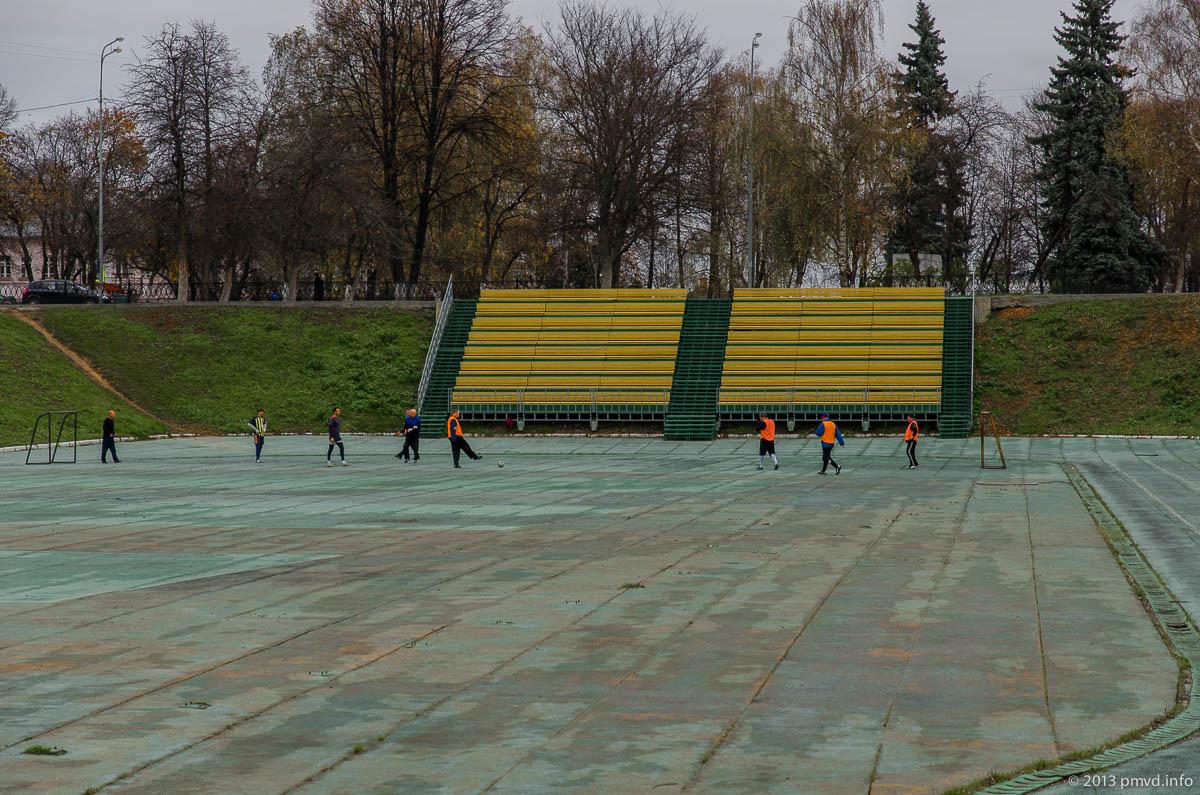 Ярославль. Стадион Юный спартаковец.