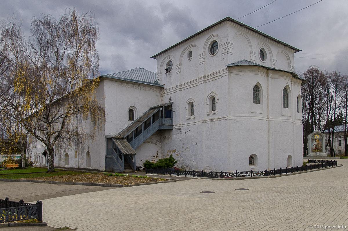 Ярославль. Спасо-Преображенский монастырь. Настоятельские покои