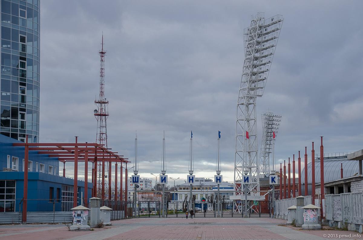 Ярославль. Стадион Шинник