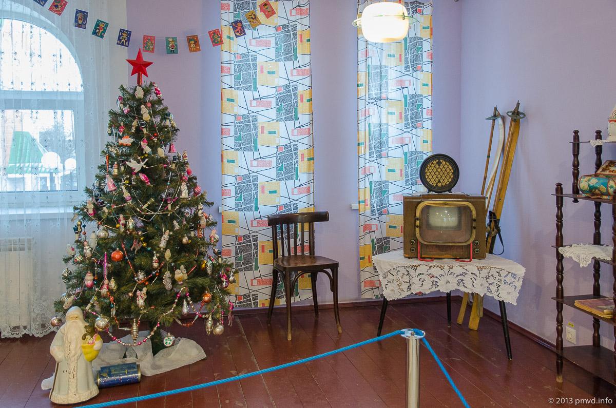 Новогодняя советская квартира