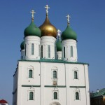 Четырехстолпный крестовокупольный храм